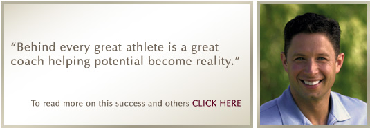 'Behind every great athlete is a great coach helping potential become reality.' - Dr. Michael Koczarski
